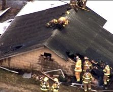 Fire destroys building at USDA animal research lab